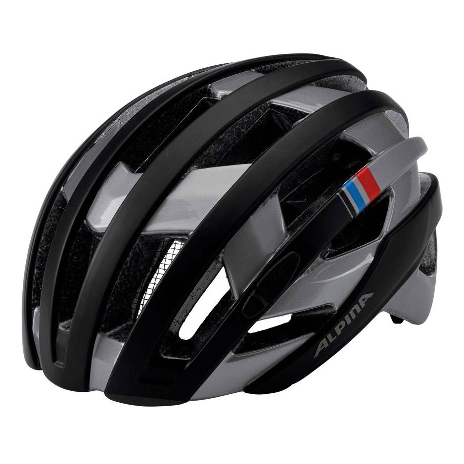 alpina campiglio rennrad helm wei silber ebay. Black Bedroom Furniture Sets. Home Design Ideas