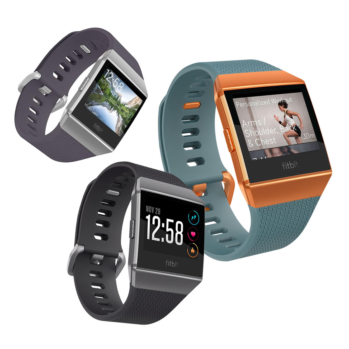 Fitbit Ionic Adidas Edition Gesundheits Und Fitness Smartwatch Ebay